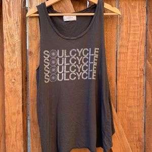 Soulcycle Black Muscle Tank